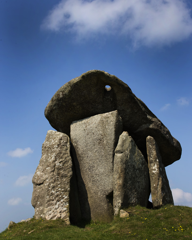 Trethevy Quoit, Cornwall, No.2. Framed for purchase.