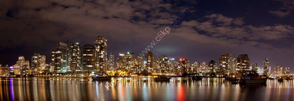 """Vancouver, Canada. (Nightscape)"""