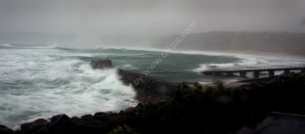 Winter Storm - Sennen Cove, Limited edition canvas