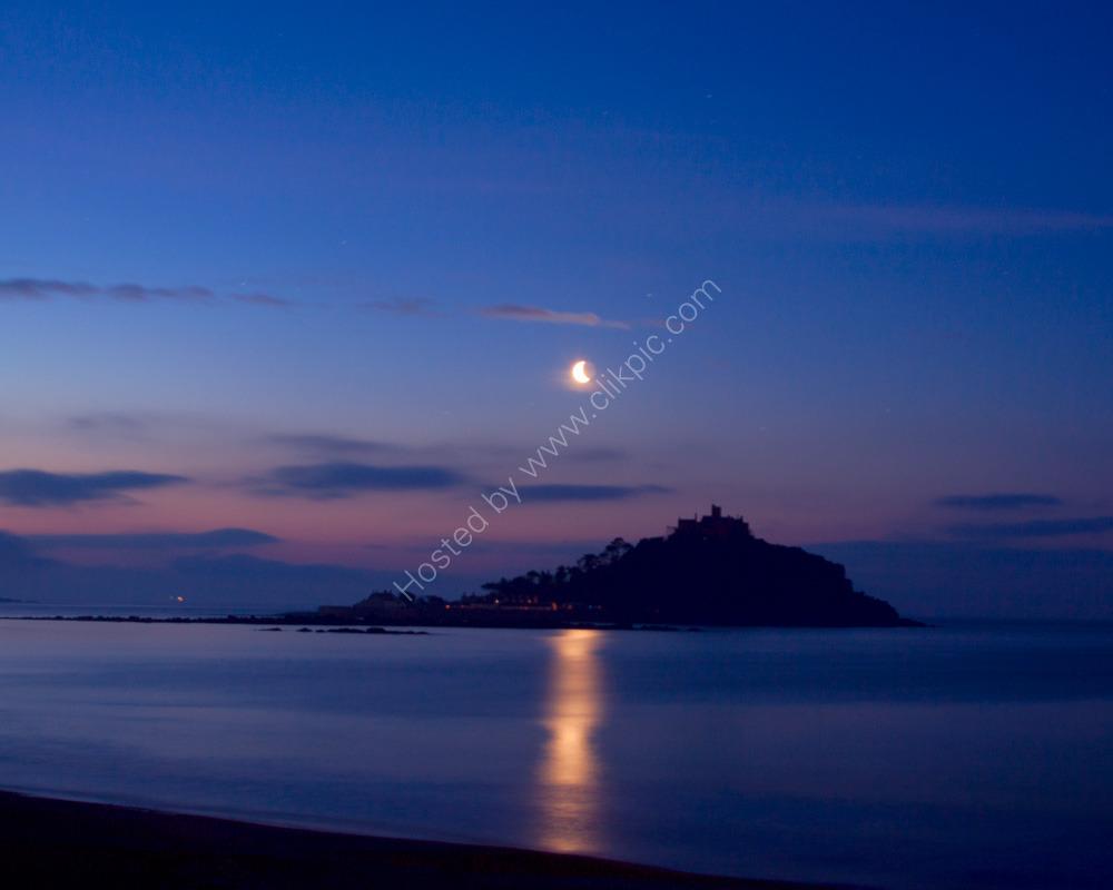 St Michael's Mount, pre-dawn.