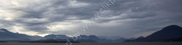Threatening clouds, Alaska, USA.
