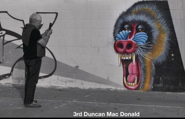 January 2020 Graffiti 3rd Duncan MacDonald