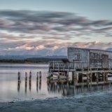28.Wharf shed at Okarito Lagoon.Shutterbugs