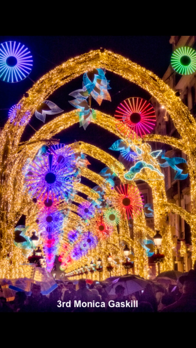 February 2020 Christmas Lights 3rd Monica Gaskill