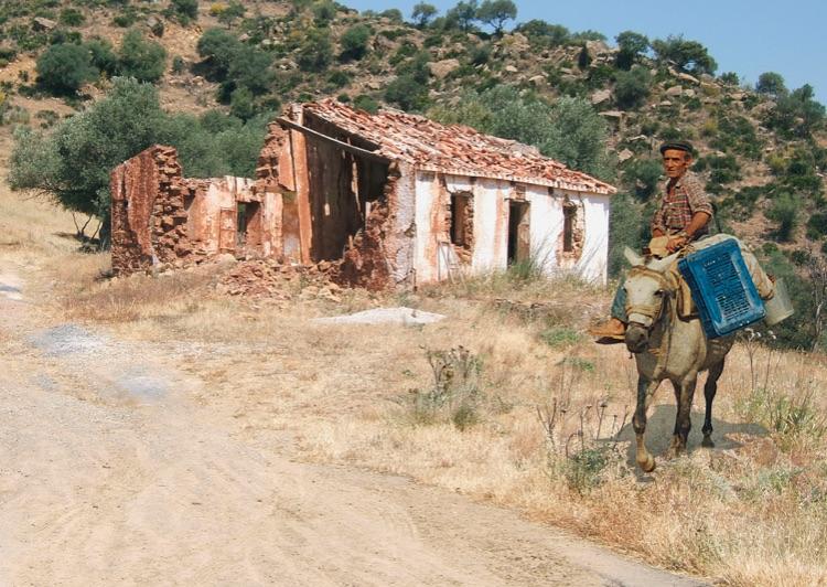 Graham Charles Greek peasant in Spain