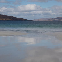 Beach scene, Isle of Harris, Scotland, water, sea,