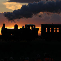 Steam at Sunset