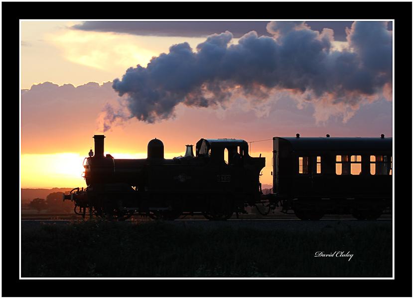 Steam at Sunset 2