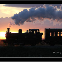Steam at Sunset 2