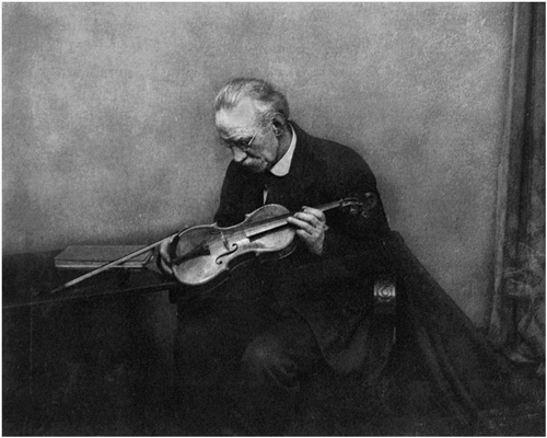 Man With Violin