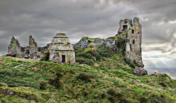 Dunure-Castle - Ayrshire