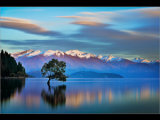 Sunrise over Wanaka