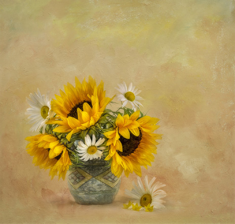 61 Sunflowers and Daisies - 19 points