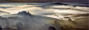 Val d'Orcia in Mist