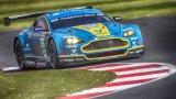 Aston Martin Vanatge V8 @ Luffield WEC Silverston 2014