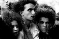 Goths, 'Cure' concert, Finsbury Park