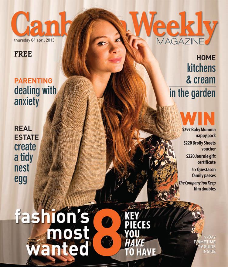 Fall Fashion Cover