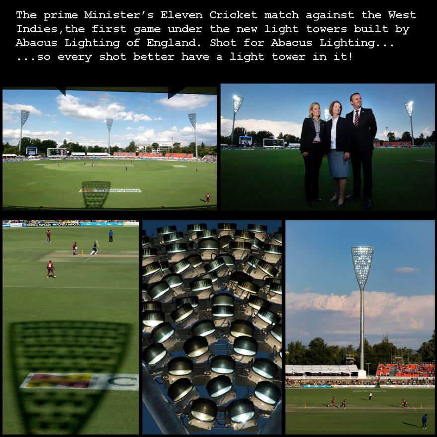 Manuka Oval Light Towers 2