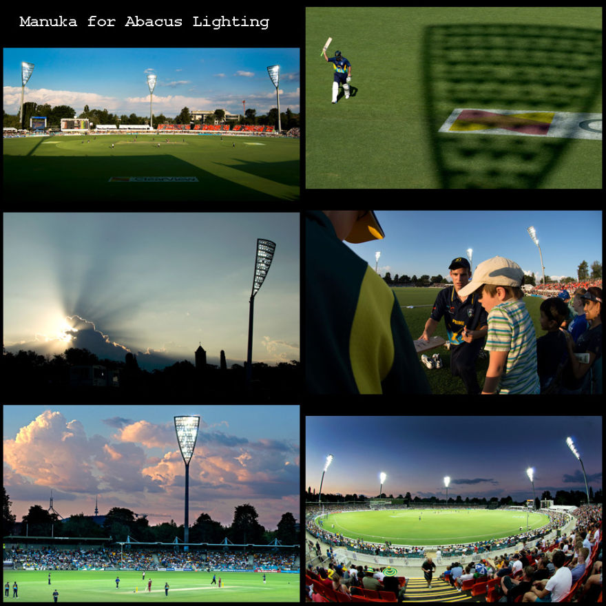 Manuka Oval Light Towers 1