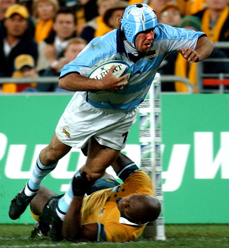 Argentine try, Rugby World Cup 2003
