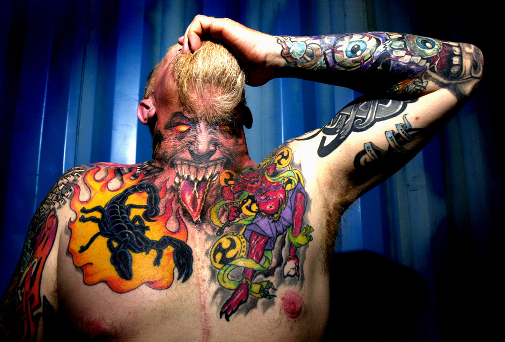 """Rat"", tatoo show, Bandidos MC Club"