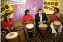 Brian Cowan & Unity Drummers