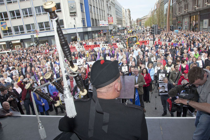 ICTU Peace Rally 2011