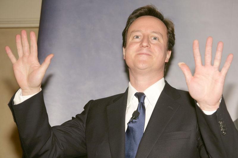 David Cameron MP 2008