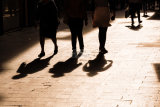 Feet Shadows Sevile
