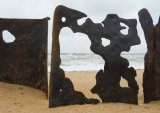 Piling Sculpture Norfolk