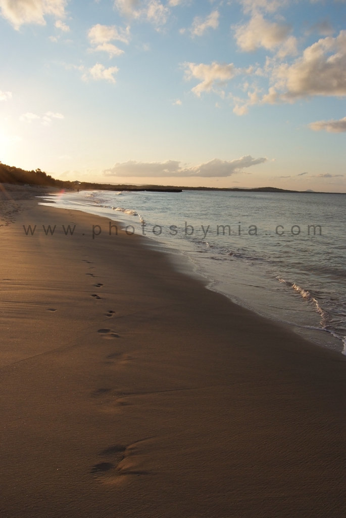 Walking on Main Beach