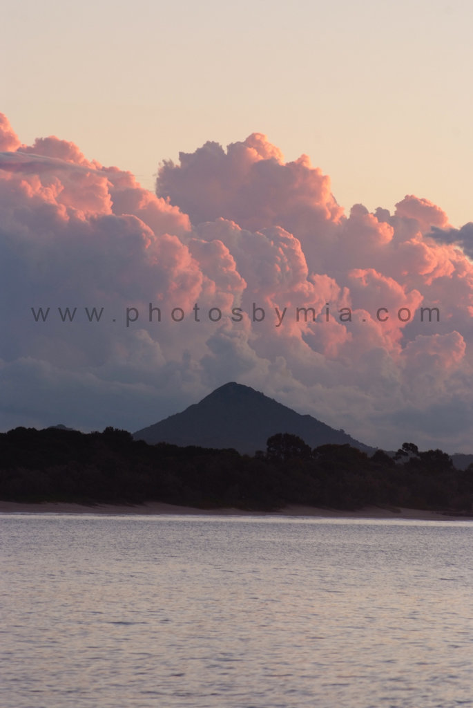 Clouds over Mt Cooroy