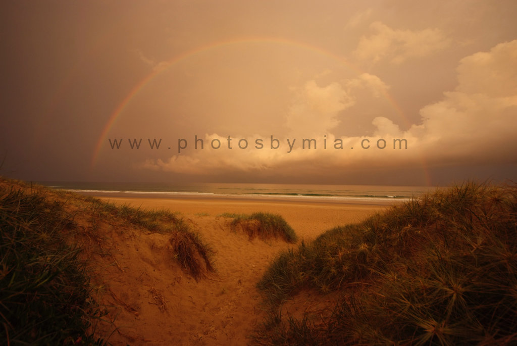 Rainbow at the end of the Path