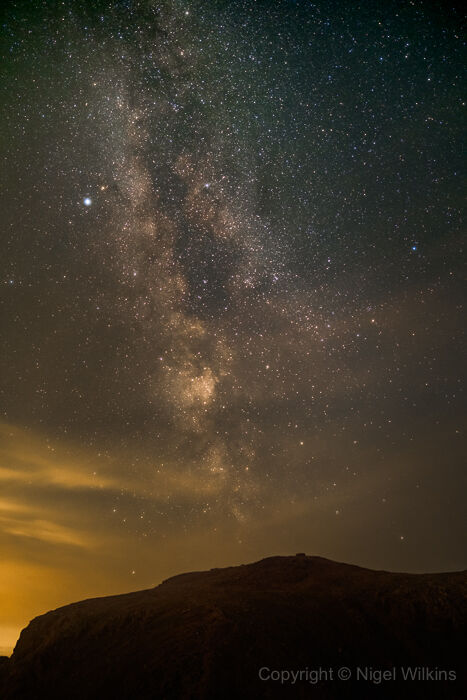 Scafell Pike & the Milky Way