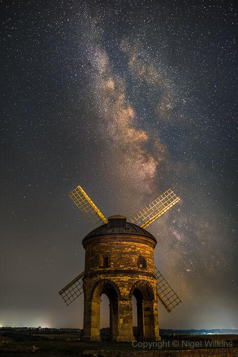 Chesterton Windmill & the Milky Way
