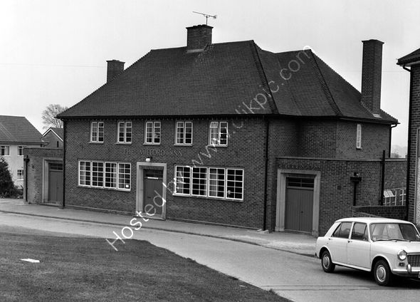 Milford Inn Yeovil in around 1974 and prior to conversion to flats