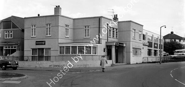 Mountbatten Hotel, Hooe, Plymouth in 1974 prior to demolition.
