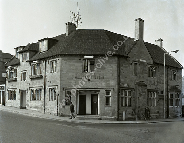 Albion Inn, Vincent Street, Yeovil 1974 (now demolished)