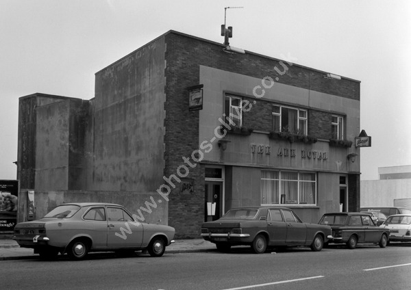 Ark Royal, Fore Street, Plymouth around 1974 later converted to 2 dwellings.
