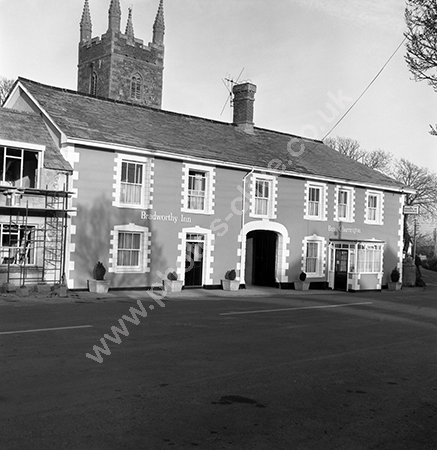 The Bradworthy Inn, The Square Bradworthy around 1973-4.