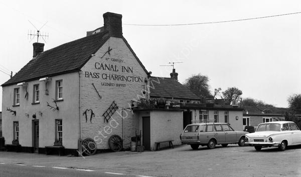 Canal Inn Wrantage, Taunton TA3 6DF around 1974