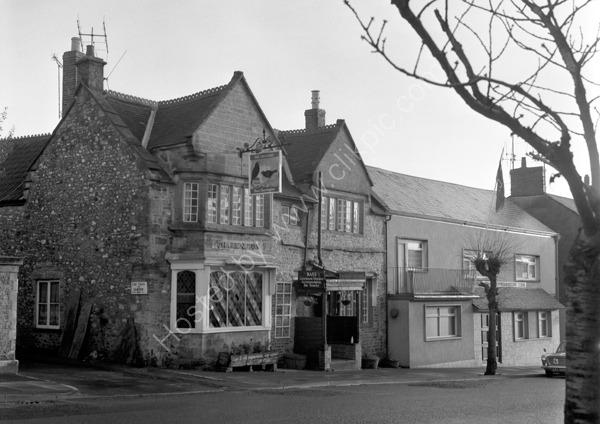 Choughs Hotel, High Street, Chard TA20 1QF around 1974
