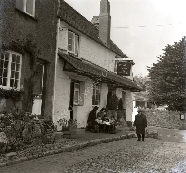 Church House Inn, Church Walk, Stoke Gabriel TQ9 6SD around 1974.