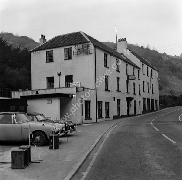 Cliff Hotel, Cheddar Gorge (Later Cox's Mill Hotel) pre 1973