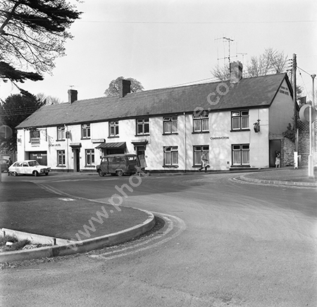 Crown Inn Hotel, Greenhill, Sherborne, Dorset DT9 4EP around 1973-74