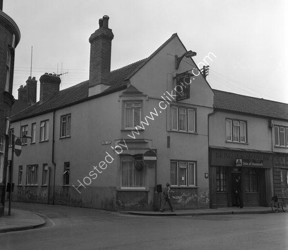 Duke of Monmouth 61 High Street, Bridgwater in 1973.