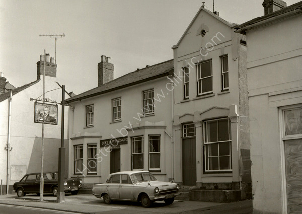 Duke of Wellington (demolished) Sherborne Road, Yeovil BA21 4HE around 1974