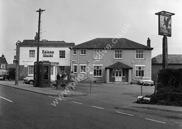 Falcon Hotel, Fawley, SO45 1DD in 1974