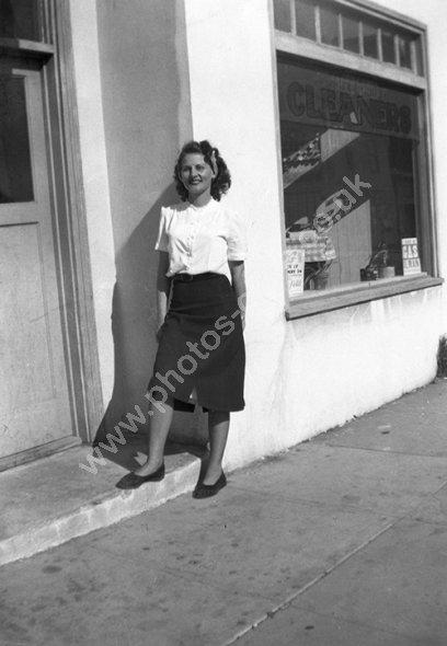 Everyday 1950s fashion