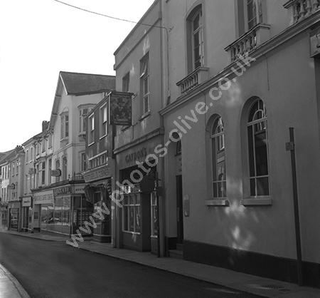 Gaydons 2 Cross Street, Barnstaple, Devon EX31 1BA around 1973-4.